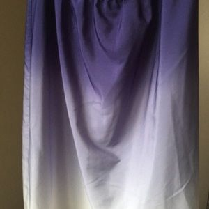 Mossimo pretty high low ombré skirt